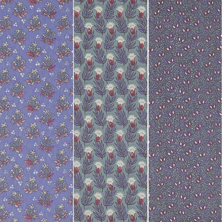 'Dutch Garden' series (purple blue)