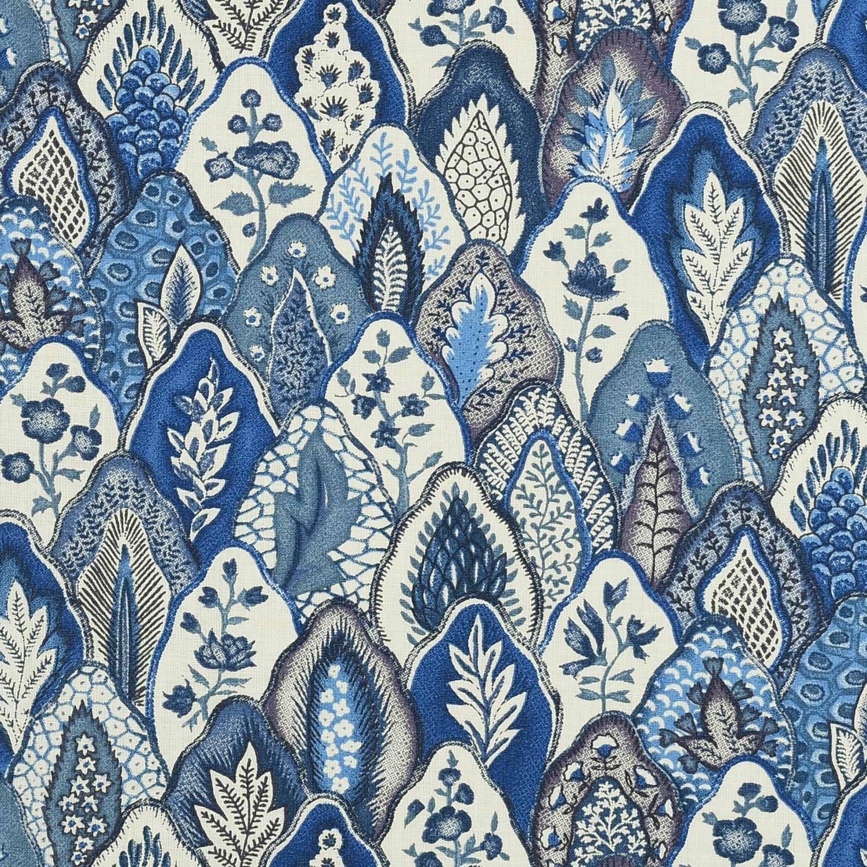 Les Mottes (bleu de Delft)