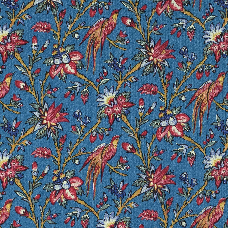 Les Oiseaux du Paradis (antique blue-green)