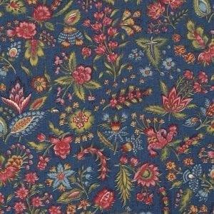Les petits Bouquets (bleu foncé)