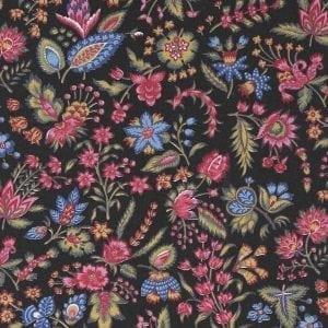 Les petits Bouquets (donker zwart)