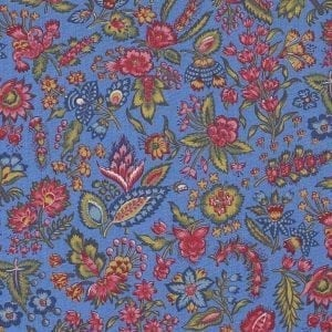 Les petits Bouquets (bleu clair)