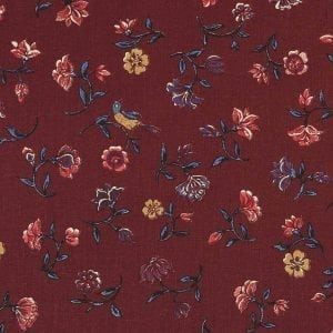 Flowers from paradise (wine red)