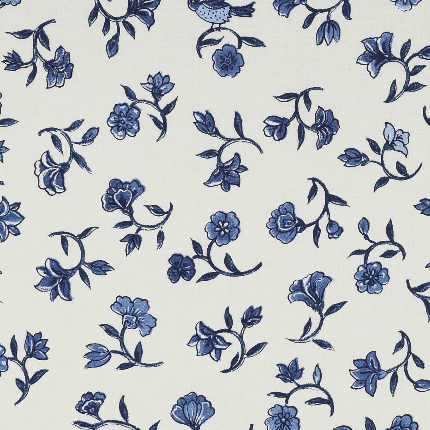Flowers from Paradise (Delft blue)