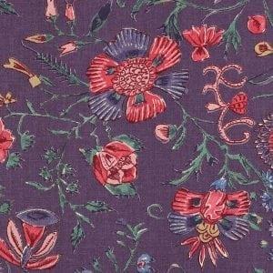 'Les Fleurs d' Inde' (purple)