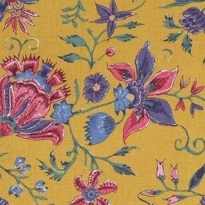 'Les Fleurs d' Inde' (yellow gold)