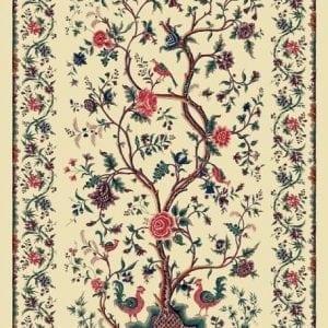 'Palempore' Levensboom met 2 haantjes