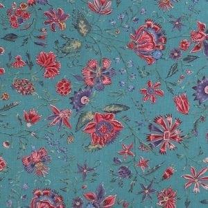 DSC_7113 dessin Les Fleurs d'inde' antiek blauw