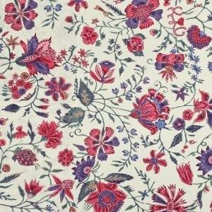DSC_7118 dessin Les Fleurs d'inde ecru multi color